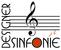 Fits in 160x50 designer sinfonie logo klein