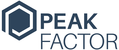 Fits in 160x50 peakfactor logo