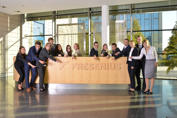 Praktikum bei Fresenius Group