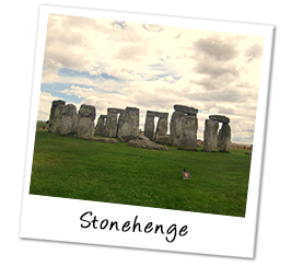 Polaroid england stonehenge